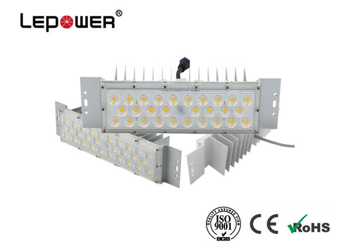 DC 32 - 38V LED Flood Light Module Aluminum Body IP66 Waterproof Customized